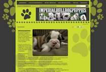 Imperial Bulldog Puppies website